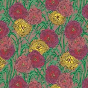 Totally Tulips (natural)