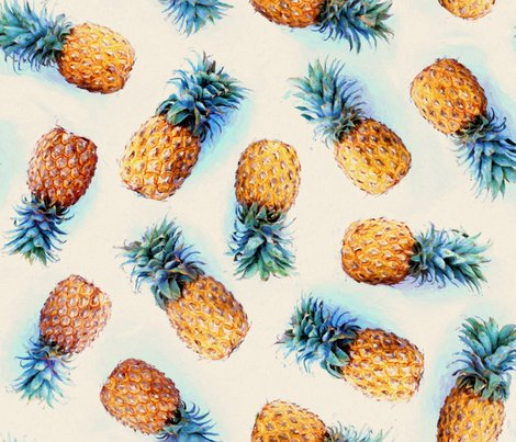 Rvintage_pineapples_on_cream_pattern_base_spoonflower_shop_preview