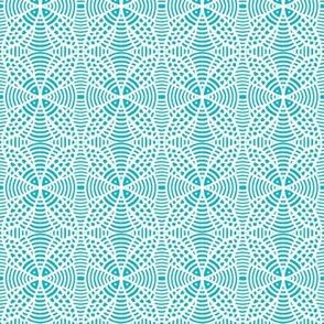 Fish Lace Dense Aqua