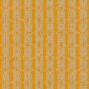 Orange Creamsicle Rows