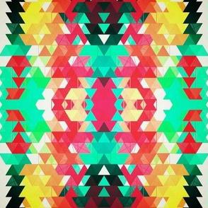 tribal geometric print