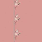 Love & Flowers Border - pink