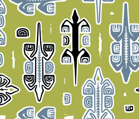 Moko 1e fabric by muhlenkott on Spoonflower - custom fabric