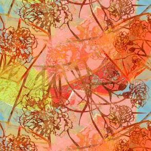 Carnation Fans in Color