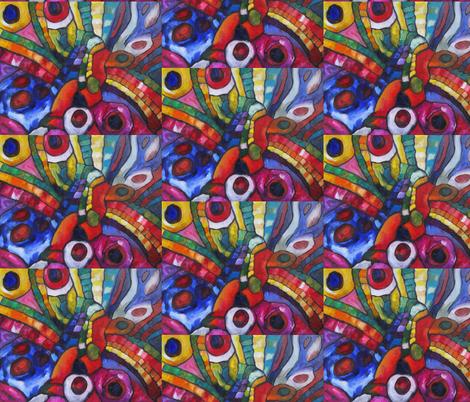 Supernova fabric by diconnollyart on Spoonflower - custom fabric