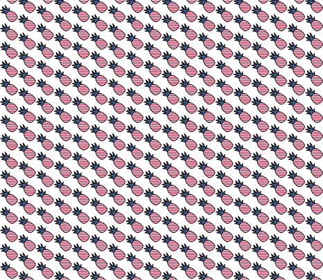 (( american pineapple)) fabric by shandubdesigns on Spoonflower - custom fabric