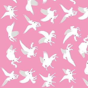 Pink Pegasus Lengthwise