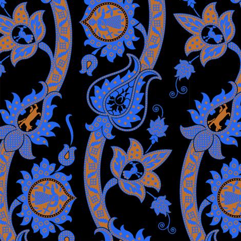Serpentine 918b fabric by muhlenkott on Spoonflower - custom fabric