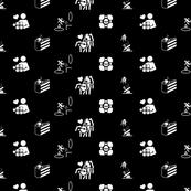 Portal large icons black