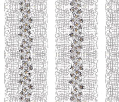 inside the hive fabric by inniv8z_oz on Spoonflower - custom fabric
