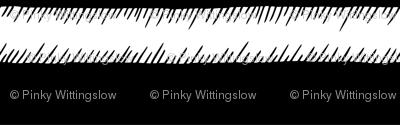 Black and White Adventure Stripe