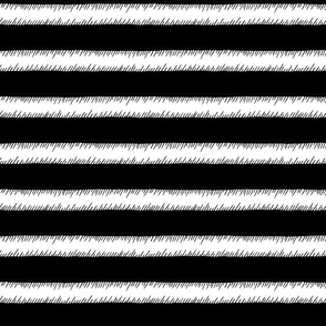 Black and White Adventure Stripe