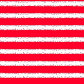 Red and White Adventure Stripe