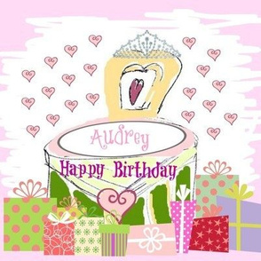 Lovely Princess Birthday -personalized