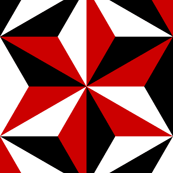 isosceles SC3 : black white and red