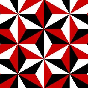 04143518 : SC3C isosceles : black white and red