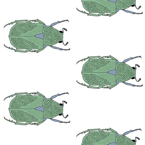 Beetle bug fabric by ruth_robson on Spoonflower - custom fabric