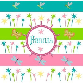 Ahoy Aloha Palm - Personalized Hannah