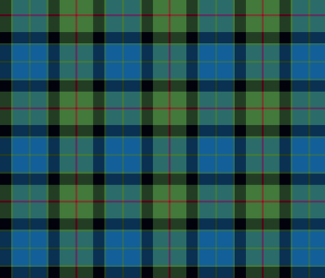 Gunn tartan fabric by weavingmajor on Spoonflower - custom fabric