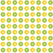 Pineappple and Kiwi
