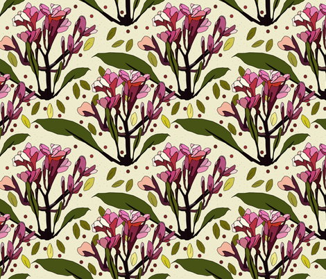Vintage fabric by rusty_nail_design on Spoonflower - custom fabric