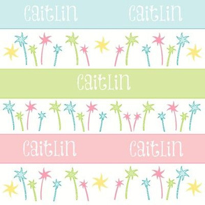 Palm Coast Stripes-personalized