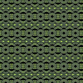 Viking Shields Green Yellow
