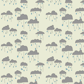 Rain Clouds - Yellow