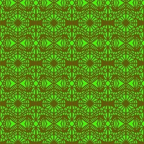 Tree Canopy Green Brown
