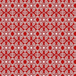 Scandinavian Holiday Red White