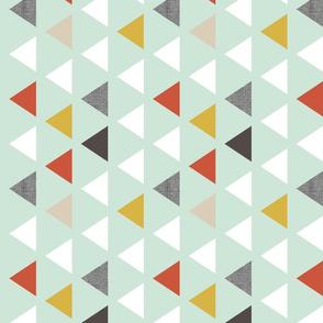 red mint triangles 90 deg