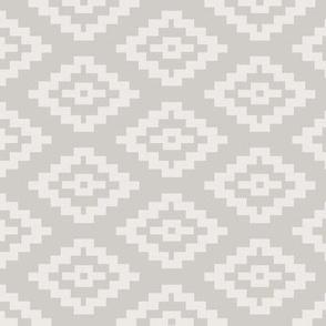 Taupe Kilim Pattern