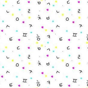 Hangul + Shapes