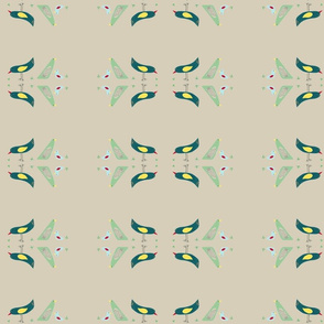 flock of birds on tan earth
