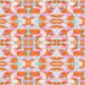 Summer Tangerine Creamsicle Pattern