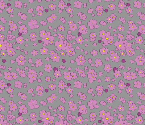 Field of Flowers fabric by indiequilter on Spoonflower - custom fabric