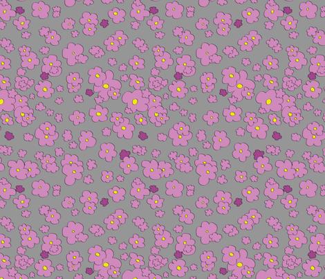 Field of Flowers fabric by stephanieforsyth on Spoonflower - custom fabric