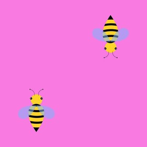 Busy Bee Patrol in Pink