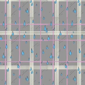Raindrop Plaid