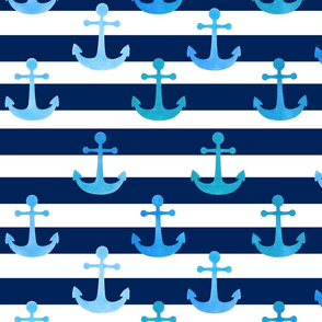 Anchors and stripes