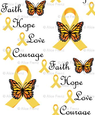 Faith Love Hope Courage II