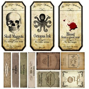 Potion Labels 1