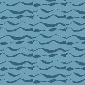 Waves XL denim on sea blue- 2015-ch