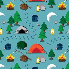 Dusk Camping