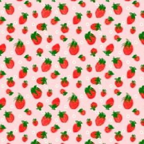Grandmas Strawberries Pink