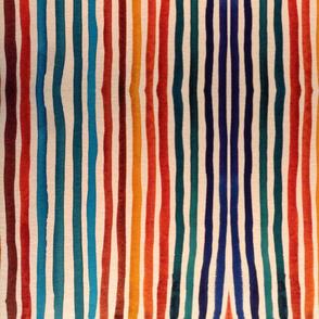 rustic stripes multicolored