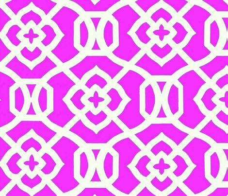 Rmoroccan_lattice-_bright_pink___white_shop_preview