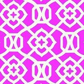 Rmoroccan_lattice-_bright_pink___white_shop_thumb