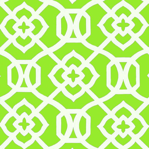 Moroccan_Lattice-_Lime_green___white