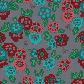 Bee-utiful Flowers - Rogue Colorway